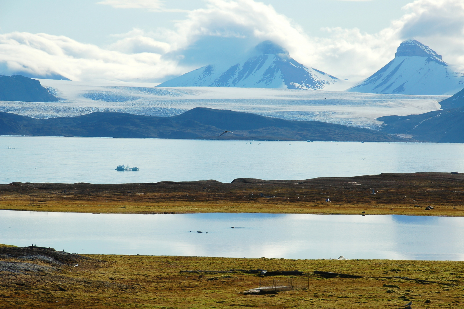 Svalbard: Ny Ålesund. Note: this lake was not part of the study. Courtesy of James Stringer/Flickr