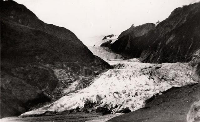 Franz Josef Glacier, Apr 1951