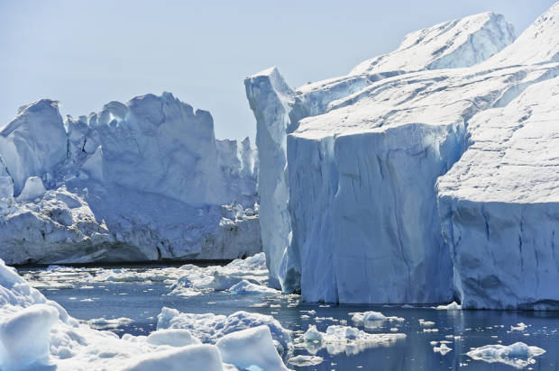 Record-speed melting ice in Greenland