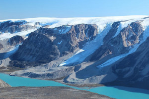 Glaciers and Little Ice Age moraines in western Greenland. Credit: Jason Briner