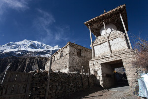 Entrance gate in Manang (Courtesy of: Greg Willis/Flikr, please contact the photographer before using)