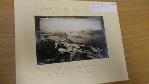 Photograph of Hugh Miller Glacier, 1907 (Credit: NSIDC)