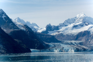 John Hopkins glacier, one of the few advancing glaciers in southeastern Alaska. (Courtesy of :Peter Makeyev/Flikr)