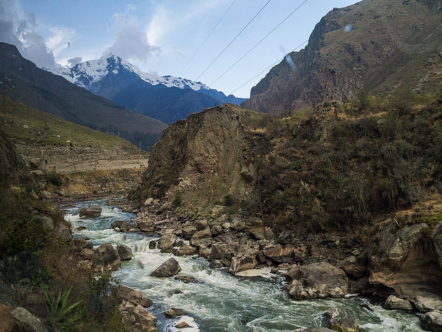 The Vilcanota River in Peru. Credit: Vlad Karpinskiy/Flickr.