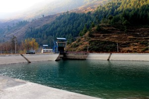 Chilime Hydropower Dam