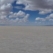 A Lake in Bolivia Dries Up