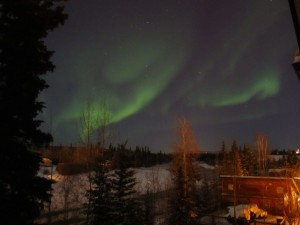 Northern lights outside Fairbanks, Alaska during ASSW (source: Jessica Brunacini)