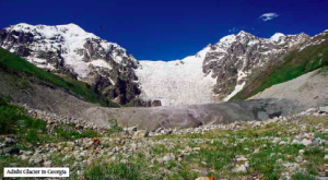 Adishi Glacier in Georgia