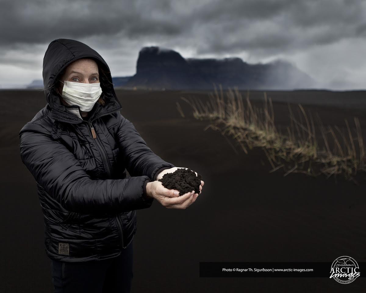 gletscherlauf am eyjafjaelljokull 2010 island