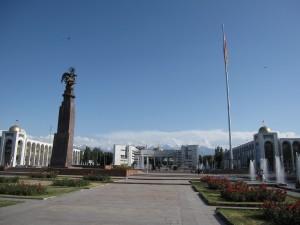 Ala-Too Square (former Lenin Square), Bishkek, Kyrgyzstan