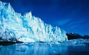 The Perito Moreno glacier in southern Patagonia
