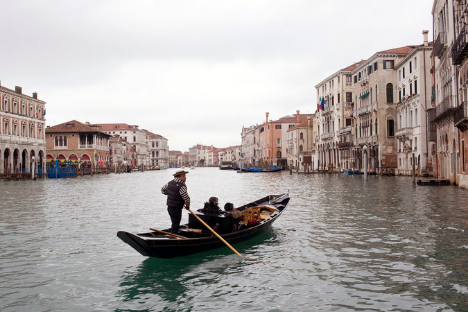 "Venice, Italy is one of many places in danger of glacial melt-induced sea level rise (Photo:<a href=""http://www.nytimes.com/2016/05/27/science/report-warns-of-climate-change-disasters-that-rival-hollywoods.html?rref=collection%2Ftimestopic%2FUnesco%20World%20Heritage%20Sites&action=click&contentCollection=timestopics&region=stream&module=stream_unit&version=latest&contentPlacement=1&pgtype=collection&_r=0/"">Andrea Wyner for The New York Times</a>)."
