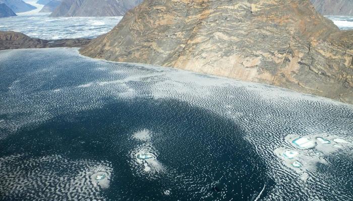 Violin Glacier fjord