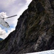 For New Zealand Visitors, Helicopters Offer Only Way Onto Two Glaciers