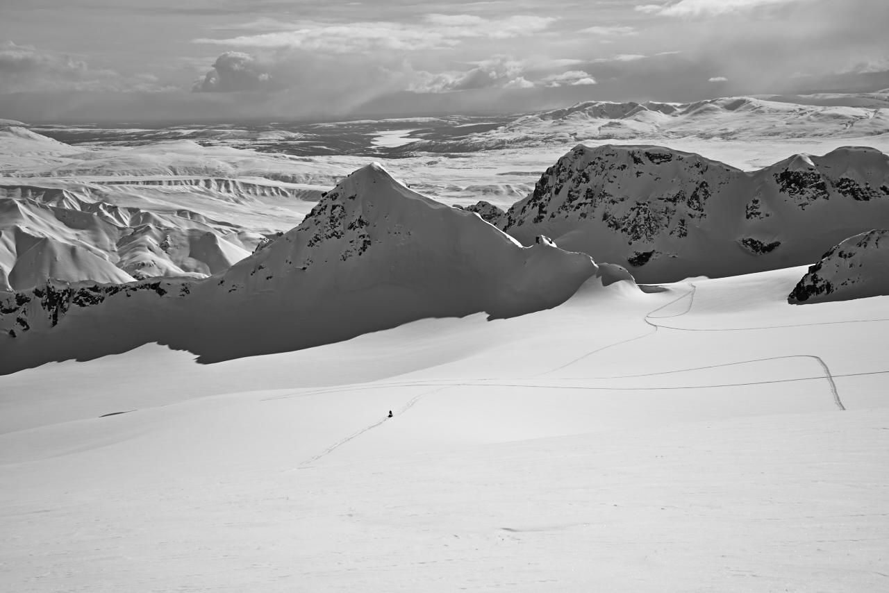 Upper Gulkana Glacier
