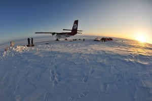 The Incorporated Research Institutions for Seismology IRIS) install a seismic station in Southwestern Greenland. Photo provided by Dr. Chris Harig