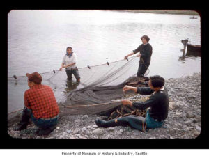 Fishing on the Quileute Indian Reservation
