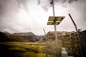 The Early Warning System in Carhuaz, Ancash.