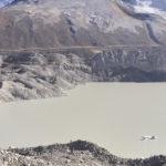 The glacial lake Imja Tsho, below Island Peak (Source: ICIMOD)