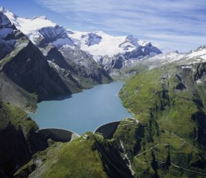 The Mooserboden storage dam in Austria (Source: VERBUND)