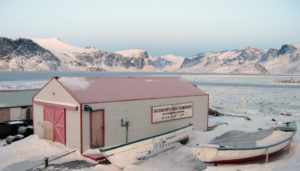 Hudson's Bay Company blubber station at Pangnirtung (source: Slp1/Creative Commons)