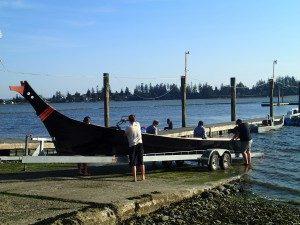 Tulalip canoes