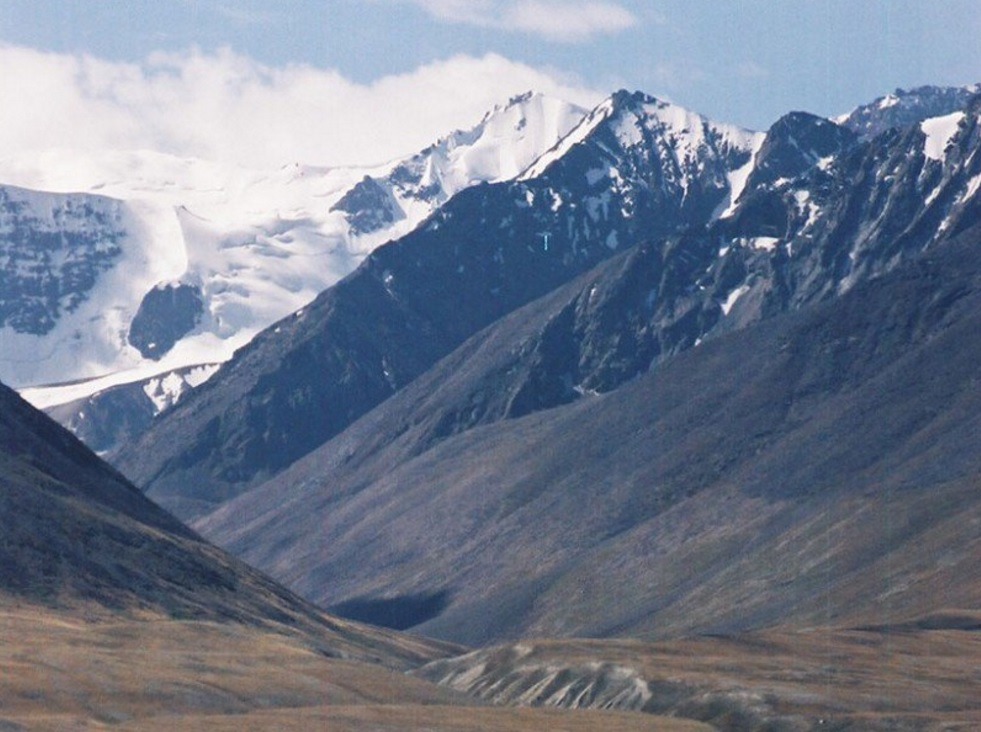 Snow-covered Peaks of the Pamir Mountains (source: Kassam/AGU)