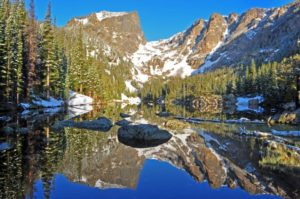 Hallett Peak, Rocky Mountain National Park (source: NPS)