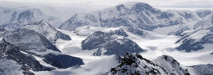 Aerial photo of the Antarctic Peninsula (Source: Wild Frontiers)