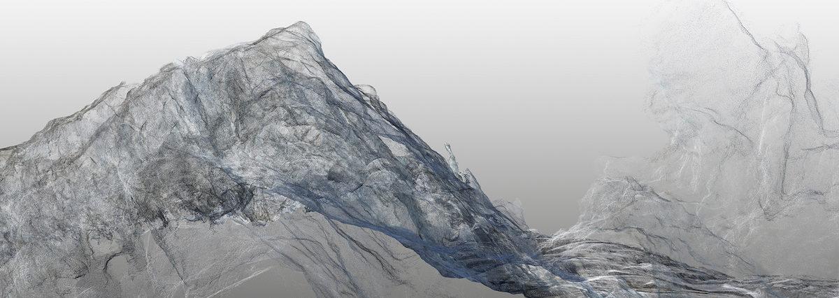 Continuous Topography, Argentiere Glacier no. 1
