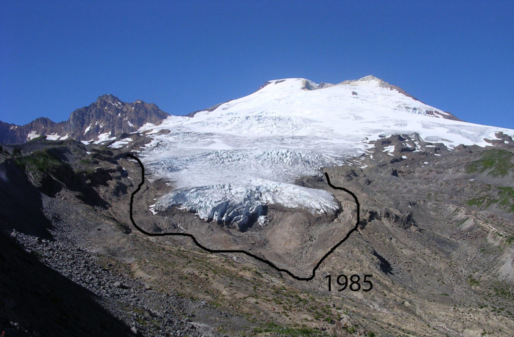 Easton Glacier retreat, taken in 2003 (wiki)