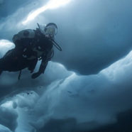 Photo Friday: Ice diving in the Alps – Glacial Lake Sassolo