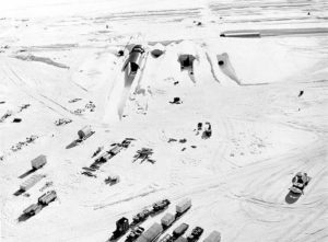 Nuclear power plant at Greenland's Camp Century during the Cold War (Source: US Army)
