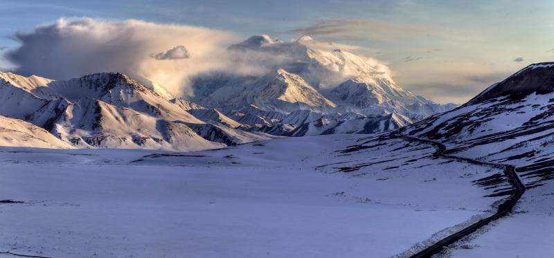 View of Denali from Stony overlook (Credit: NPS Photo / Jacob W. Frank)