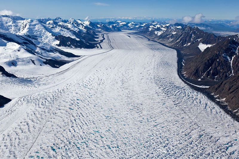 Kahiltna glacier, on the southwestern slope of Denali (Swisseduc)