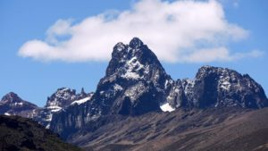 Snow-capped peaks of Mount Kenya (Source: Valentina Strokopytova)