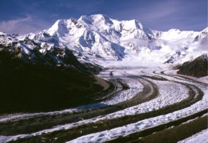 Mount Blackburn and Kennicott Glacier (source:NPS)