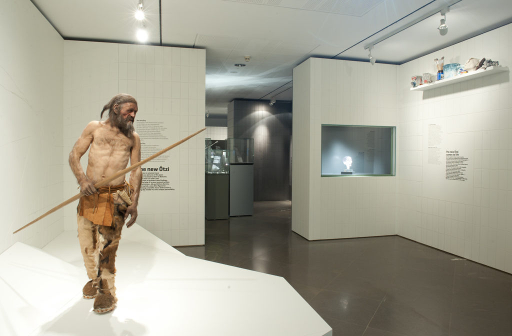 Reconstruction of Ötzi the Iceman (source: OetziTheIceman/Flickr)