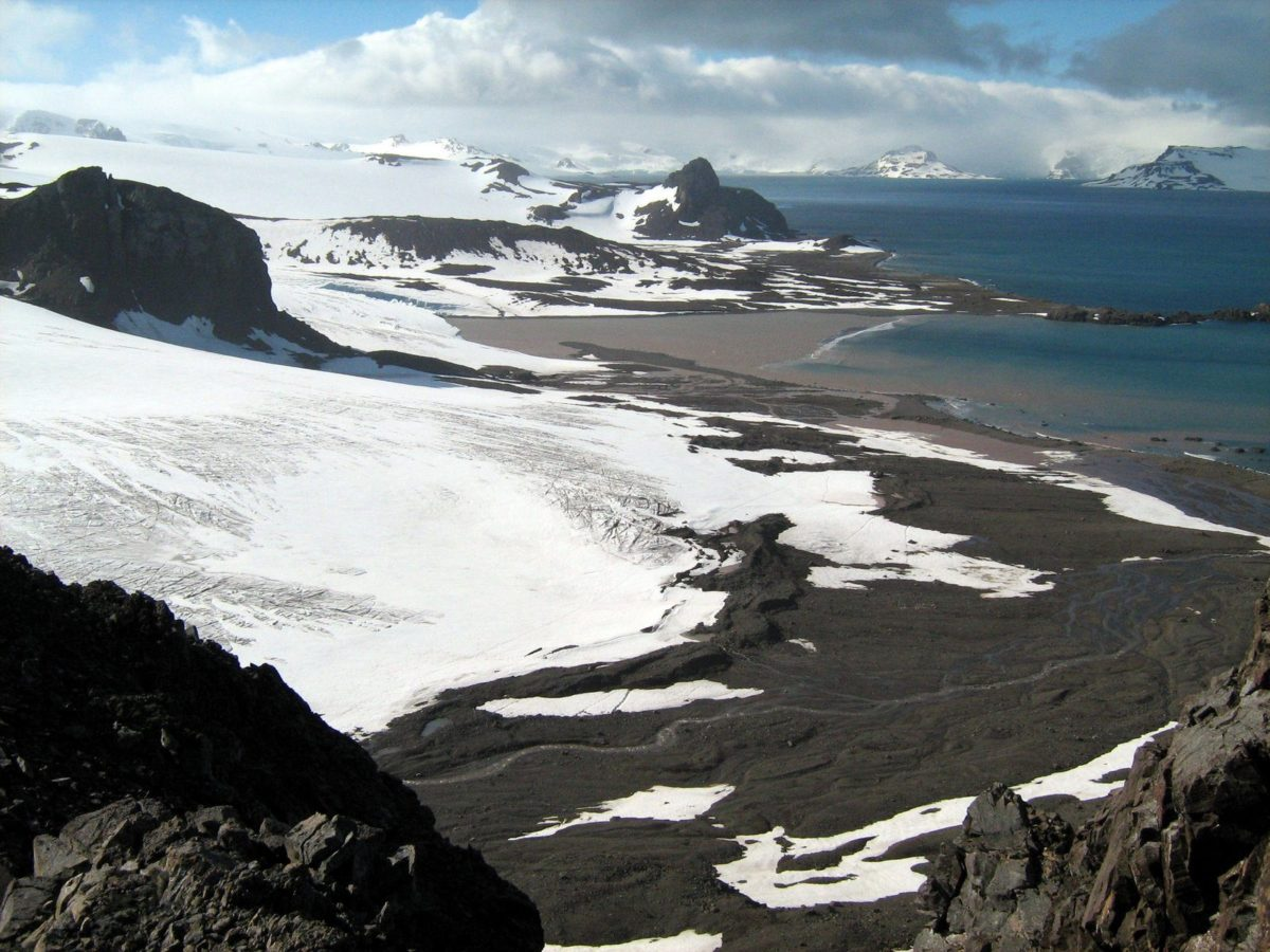 One of the glaciers on King George Island