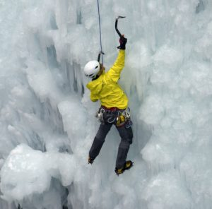 Ice climbing in the Colorado Rockiers (source: John Fowler/Flickr)