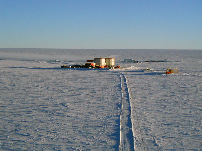 Concordia Station in Antarctica, where the cores will be stored underground at -54 °C (Source: Stephen Hudson/Creative Commons).
