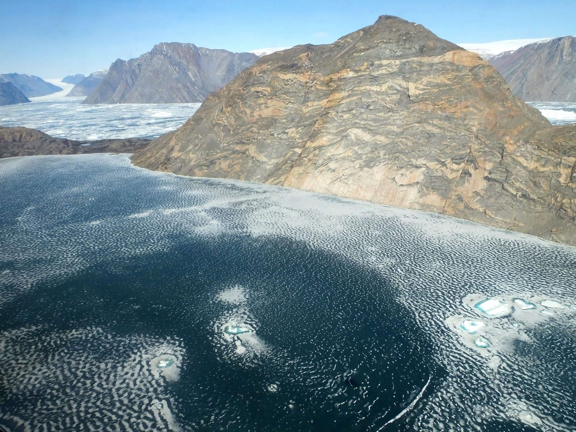 fjord of Violin Glacier