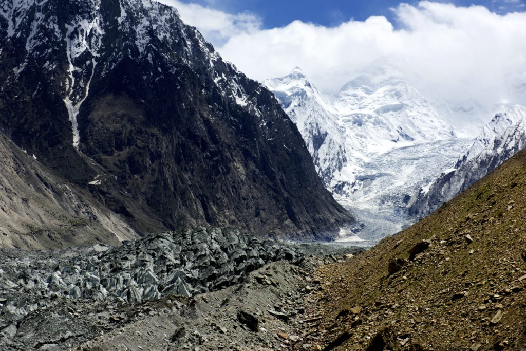 Hopar Glacier, Nagar Valley, Pakistan (Source: Najeebmahmud/Creative Commons)