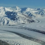 Glacial Retreat Causes A Yukon River to Disappear
