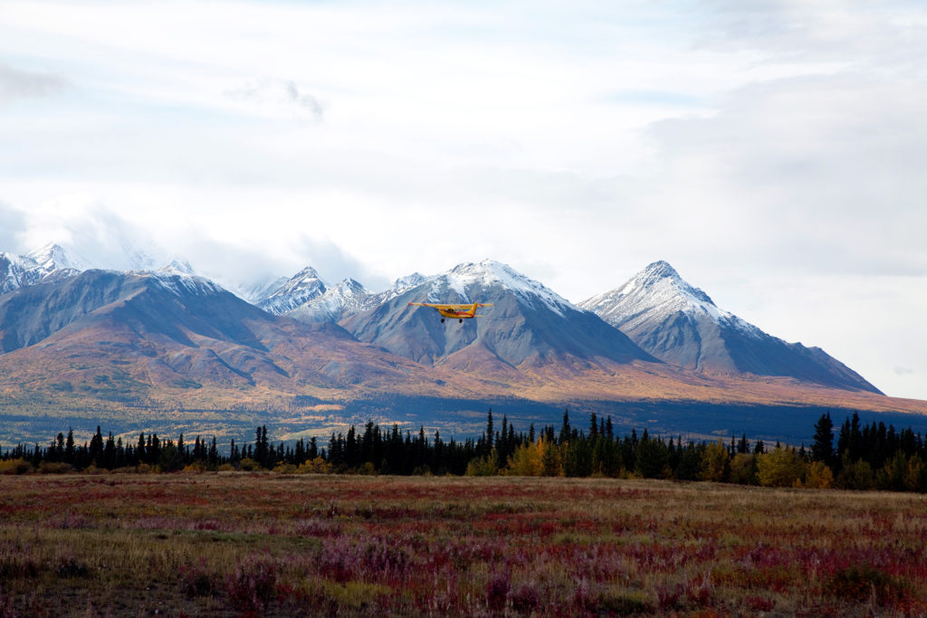 BHBXAJ airplane Canada Kluane National Park mountain; mountains nature unspoiled Yukon Yukon Territory