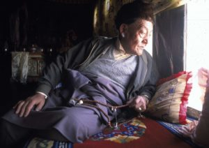 King Jigme Palbar Bista, Mustang's king until 2008 (Source: Macduff Everton/Courtesy of Nepali Times).