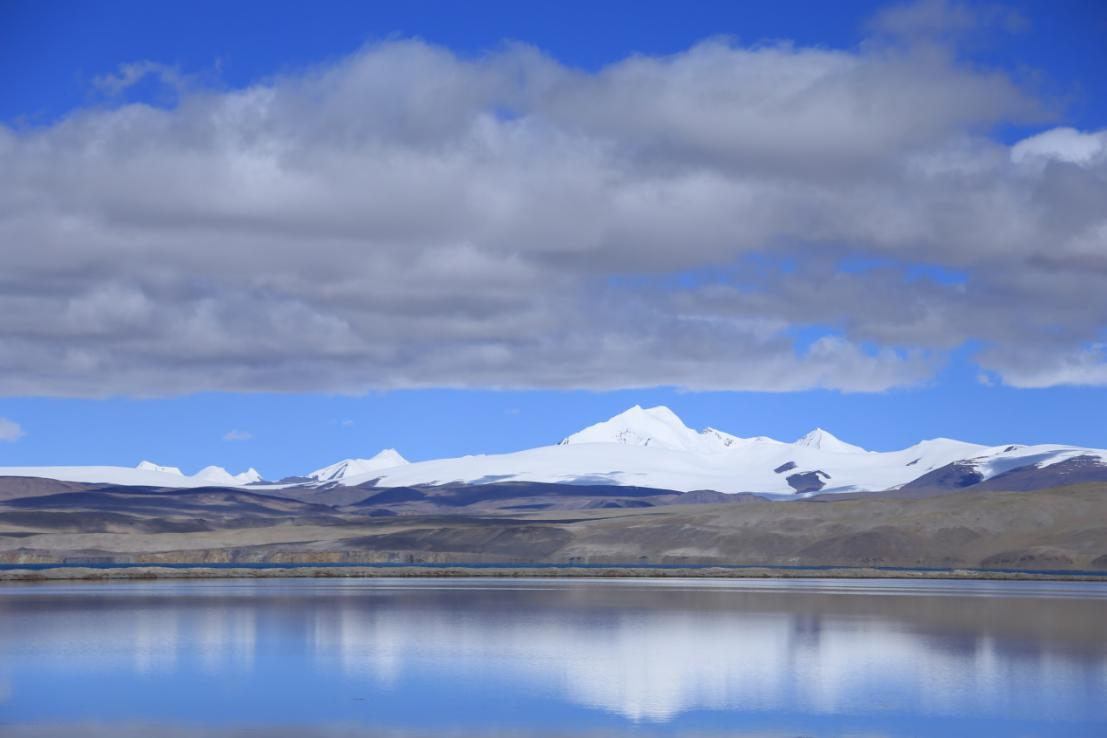 Kotra Tso at the Kunlun Mountains (source: Dr. Yongjie Wang).