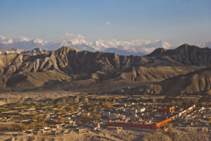 View of the walled city of Lo Manthang, Nepal (Source: Tom Kelly/Courtesy of Nepali Times).