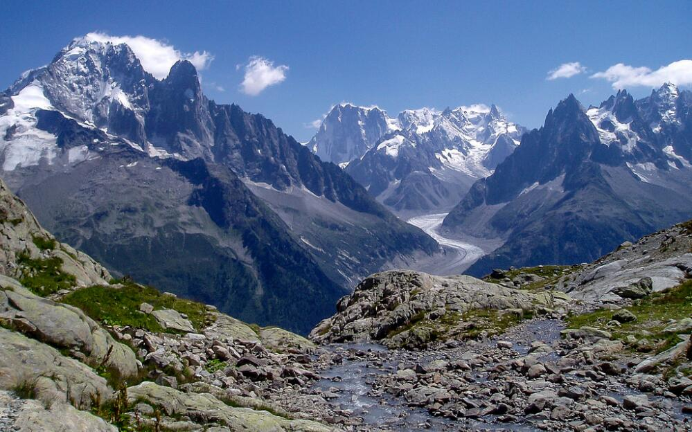 Rock glaciers in the European Alps (source: M Barton / Flickr).