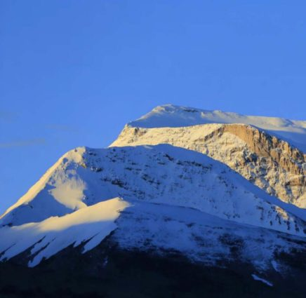 The Mt. Gurla Mandhata (source: The Way to the Sacred Land).